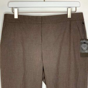 Vince Camuto Womens Dress Pants Brown Size 8